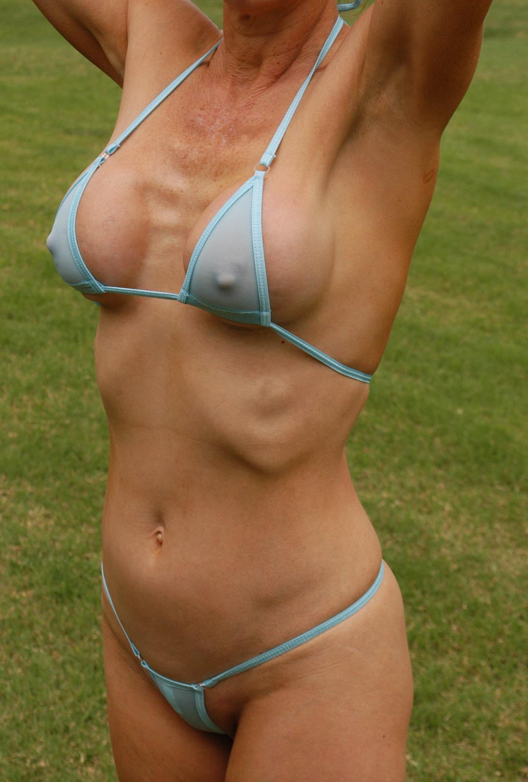 Consider, that Sexy micro string bikini